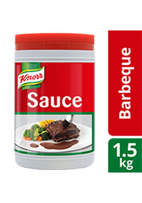 knorr barbecue sauce 1 5kg unilever food solutions