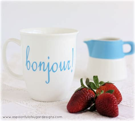 Bonjour!   A Spoonful of Sugar