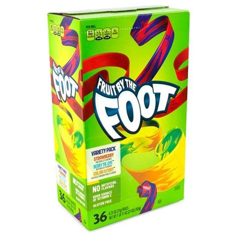fruit by the foot fruit by the foot variety pack 36 count target