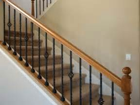 wood stair railings and banisters 10 best ideas about indoor stair railing on