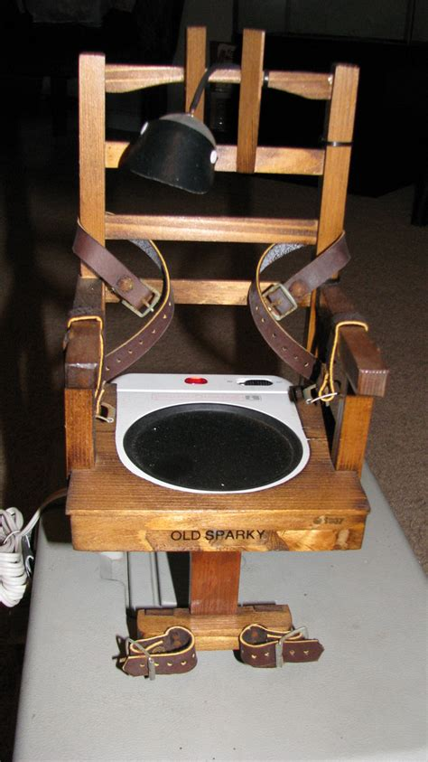 How To Make Electric Chair by Sparky Electric Chair Beverage Warmer Collectors Weekly