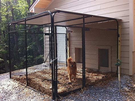 dog house with attached kennel k9 kennel store photo gallery