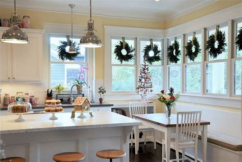 christmas decorating ideas for the kitchen christmas decorating ideas that add festive charm to your