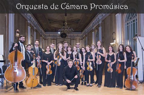 orquesta de c 225 mara orquesta prom 250 sica