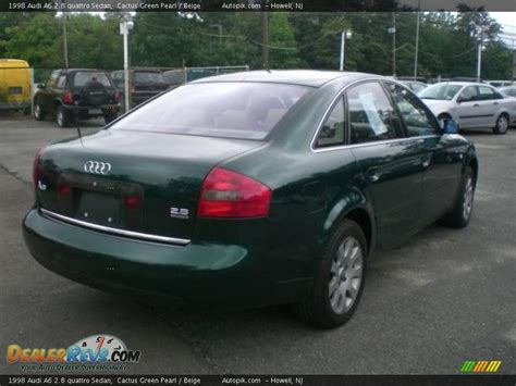 Audi A6 2 8 by 1998 Audi A6 2 8 Quattro Sedan Cactus Green Pearl Beige