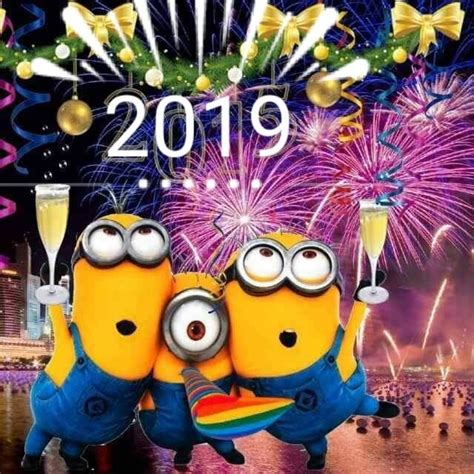 im       gosh sakes happy  year minions quotes   year minions