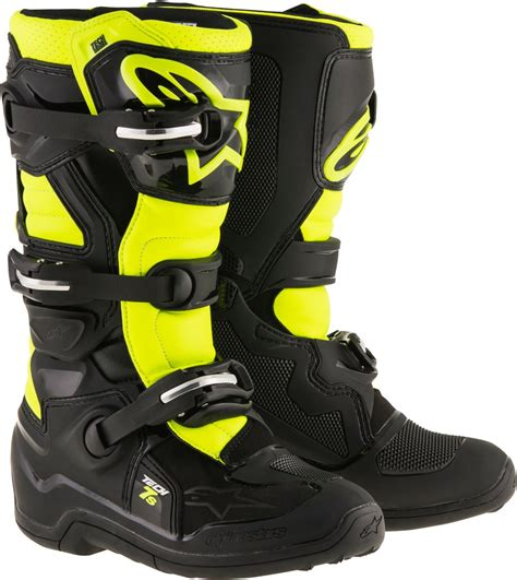alpinestars motocross boots alpinestars youth boys tech 7s mx motocross offroad riding