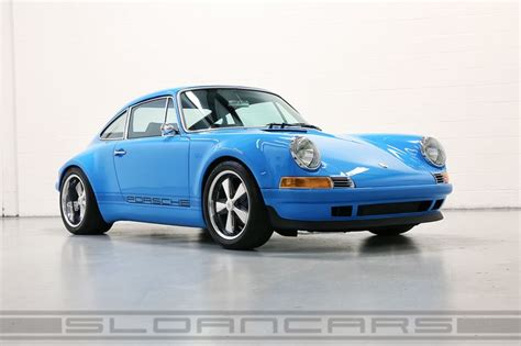 vintage porsche blue 1992 964 rsr tribute mexico blue black luxury edition
