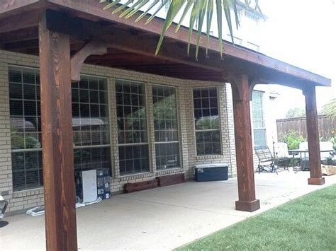 Patio Shed Roof by Shed Roof Cedar Patio Cover 1 Patio Covers