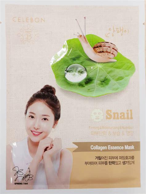 Masker Celebon talk review celebon wanna b collagen essence mask snail