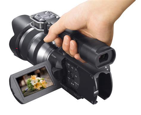 Kamera Sony Vg10 sony d 233 voile 233 scope 224 objectif interchangeable le sony nex vg10 cnet