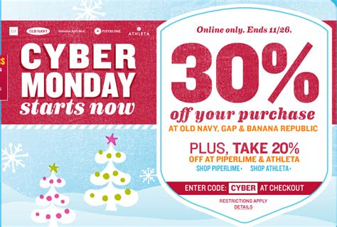 old navy coupons cyber monday old navy cyber monday save 30 off your purchase ftm