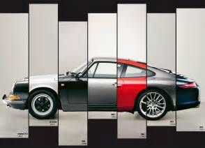 Porsche 911 Generations The Evolution Of The Porsche 911 In One Awesome Picture