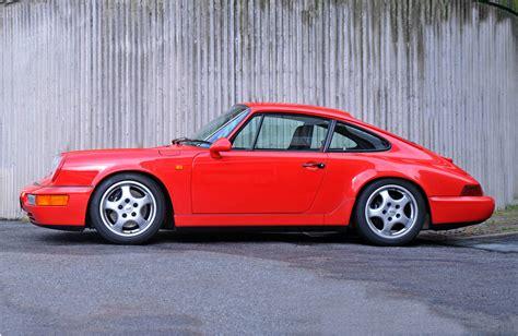 porsche 964 red 1992 porsche 911 964 carrera rs classic driver market