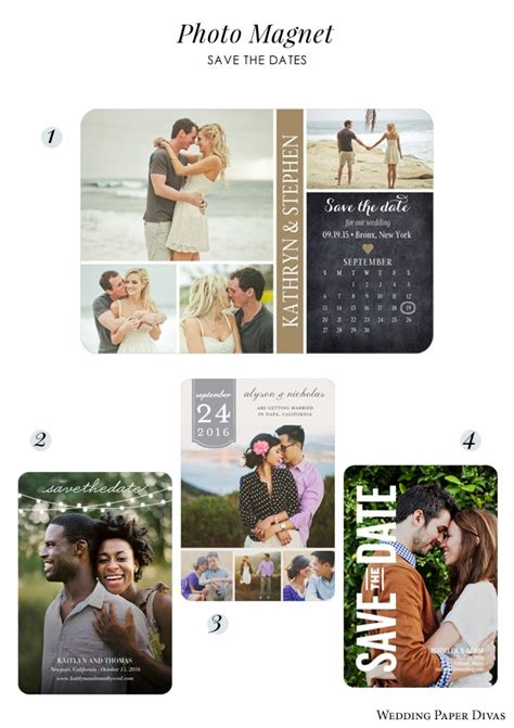 Wedding Paper Divas Save The Date Magnets by Save The Date The Beautiful Of Announcing Your
