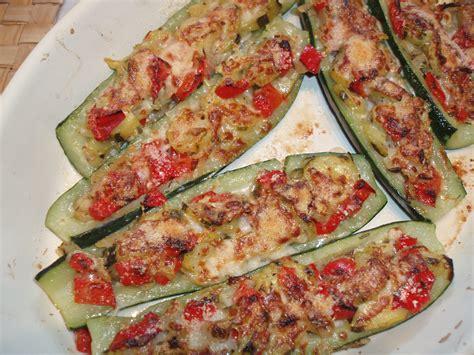 recette de cuisine avec des courgettes recette de courgettes farcies aux l 233 gumes le d