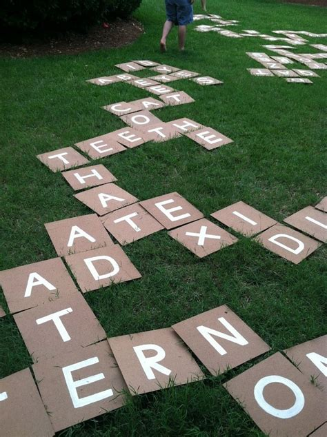 lawn scrabble backyard scrabble things to do
