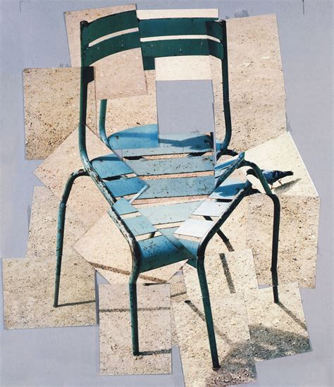 Chair Photography by David Hockney Schmall