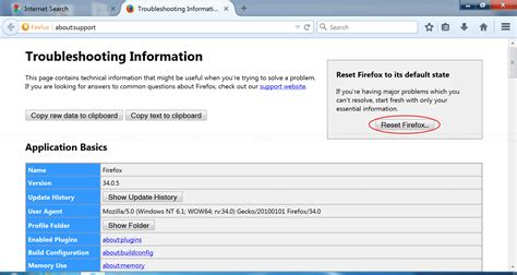 reset all firefox printer settings reset ie firefox and chrome to default settings