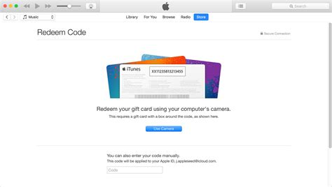Can You Use Itunes Gift Card In Apple Store - redeem itunes or apple music gift cards and content codes apple support
