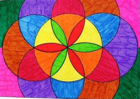 figuras geometricas hechas con compas el blog de leoncio plastica flores con comp 193 s
