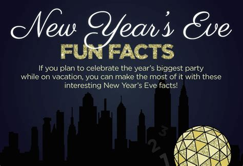 new year unknown facts 6 new year s facts for 2016 inforgraphic