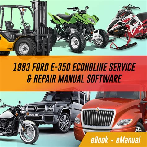 old cars and repair manuals free 1993 ford escort electronic valve timing 1993 ford e 350 econoline workshop service repair manual