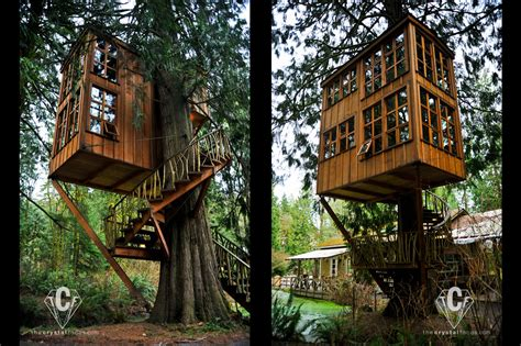 The Tranquilizing Treehouse Point ? Washington (United