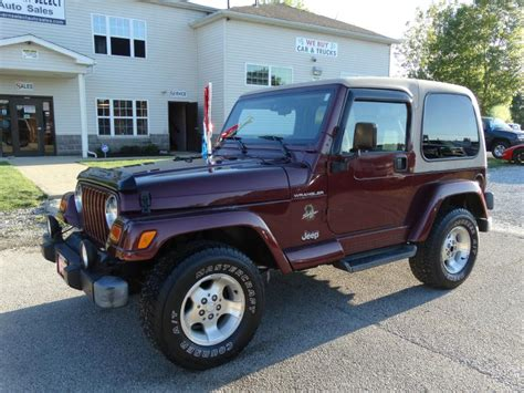 New Arrival Slingbag Jeep 202 2002 jeep wrangler tj for sale in medina oh