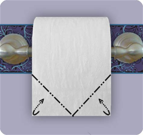 Make Your Toilet Paper Chic With Origami by Toilet Paper Boat Make Origami