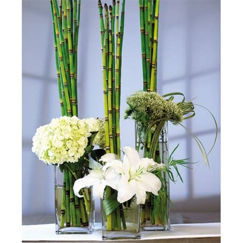 Vases For Wedding by Wedding Centerpiece Square Vase