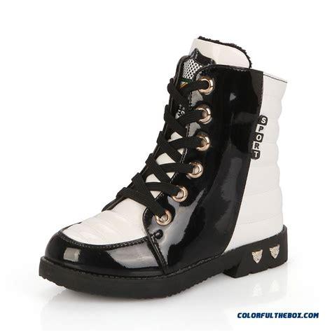 cheap winter cotton boots plus velvet martin boots