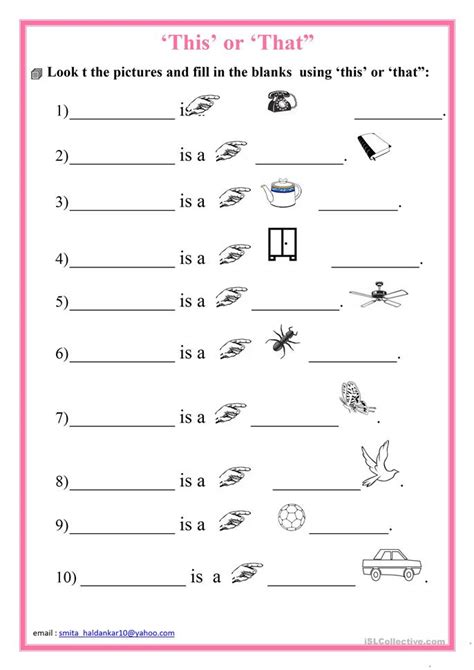 free printable worksheets on this and that this or that worksheet free esl printable worksheets