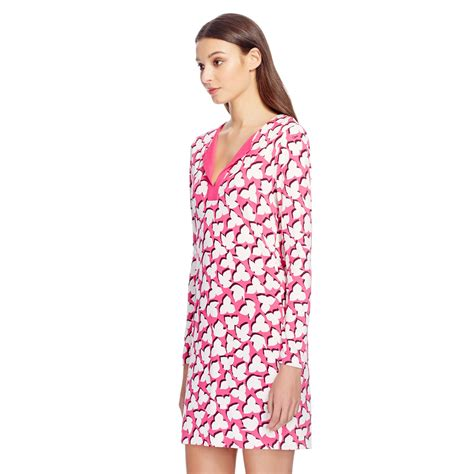 Tunic Vitoria 2 Dress lyst diane furstenberg reina silk jersey tunic dress
