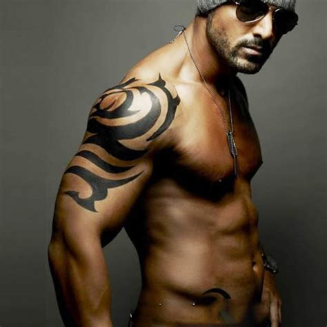 hot men with tattoos temporary tattoos large sale arm transfer