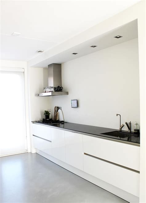 keuken spotjes die spotjes in het plafond bij keuken gietvloer len