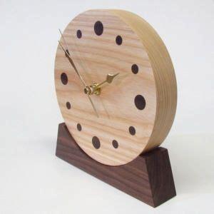 unusual wood clock wooden clock unique wooden