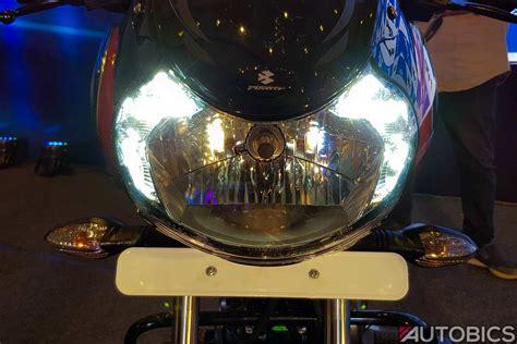bajaj discover  headlamp led drl autobics