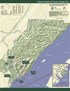 Tn State Parks Map by Nathan Bedford Forrest State Park Tennessee State Parks