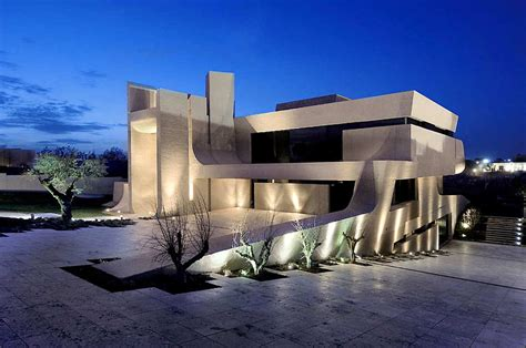 a cero architects madrid house concrete
