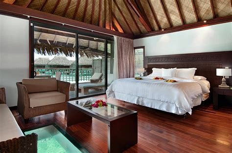 native bedroom design decorating with a south pacific island influence