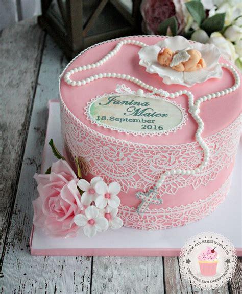 kuchen zur taufe 25 parasta ideaa pinterestiss 228 torte zur taufe