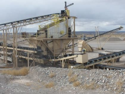 mobile, portable rock crushers, coal, gold mining