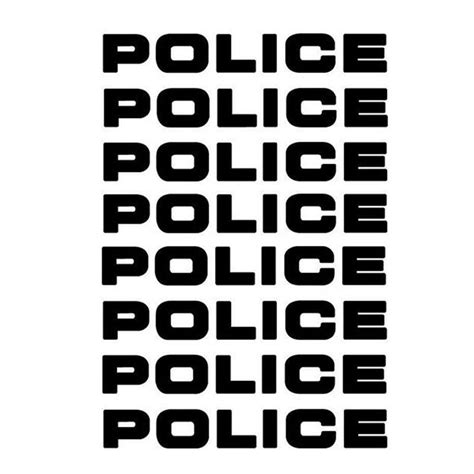 Polizei Aufkleber by Popular Decals Buy Cheap Decals Lots From