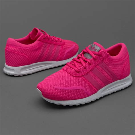 shoes adidas originals infant los angeles shock pink white s80234