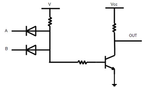 transistor nand gate tutorial nand gate operation ece tutorials