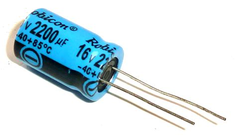 electrolytic capacitor the basics of capacitor values build electronic circuits
