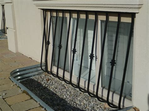 window guards and window security bars metalex security