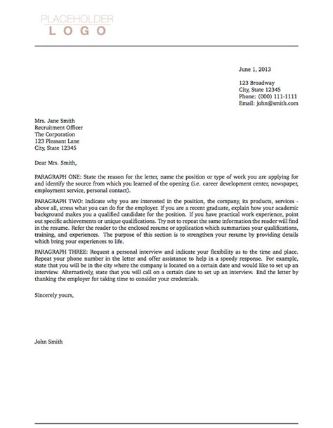 layout of cover letter layout of a covering letter 14019