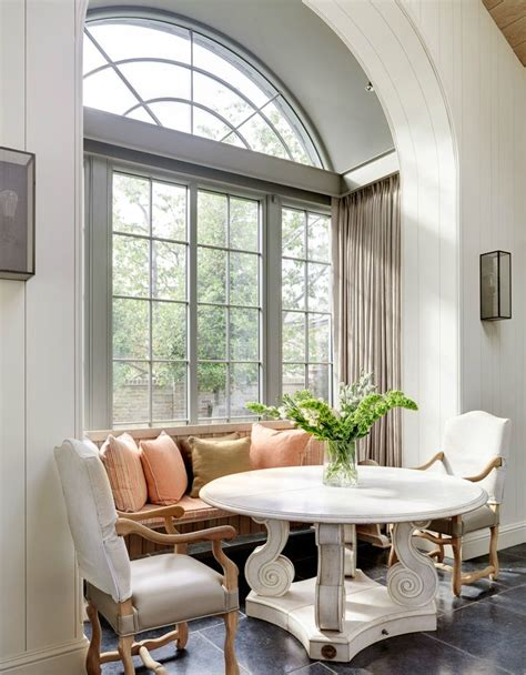 Bay Window Seat Kitchen Table Minnie Peters Kitchen Dining Table Belgian Bench Dining Chairs And Wall Lights